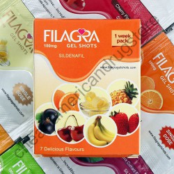 Filagra Oral Jelly 1 Week Pack 7 Assorted Flavors